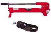 手動油圧ポンプ・油圧ナッター